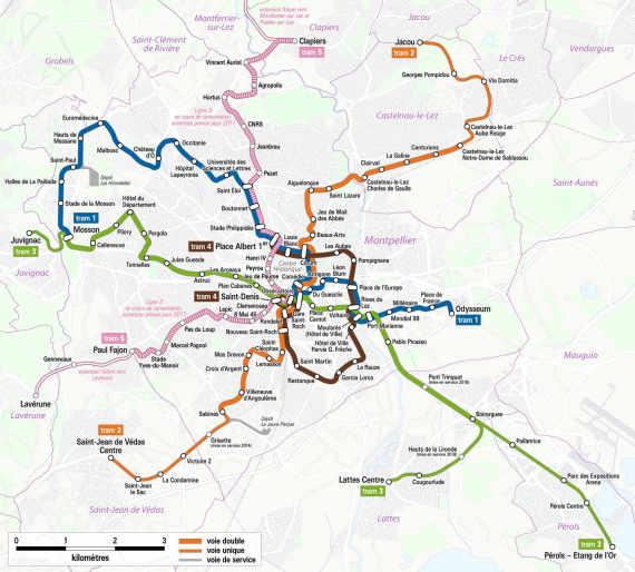 tramway map